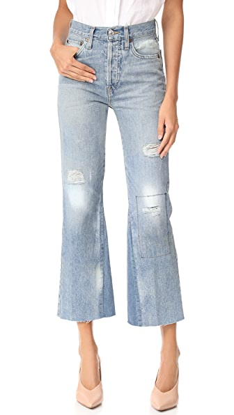 RE/DONE Leandra Jeans - Ghost