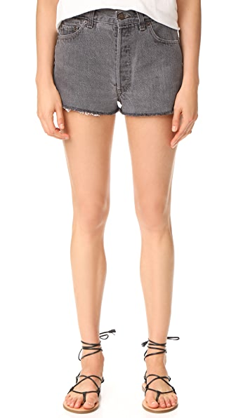 RE/DONE x Levi s The Shorts - Black
