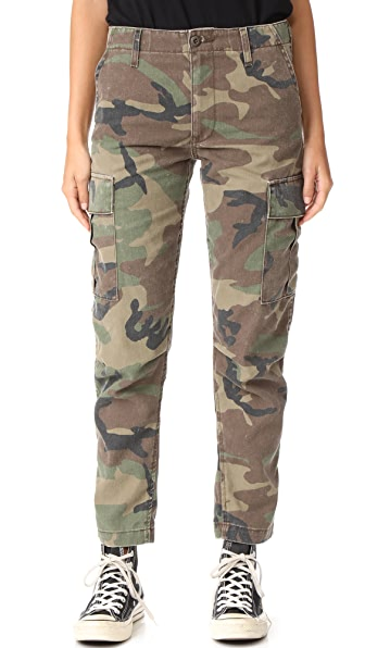RE/DONE Cargo Pants - Camo
