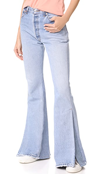 RE/DONE x Levi's Slit Jeans In Indigo