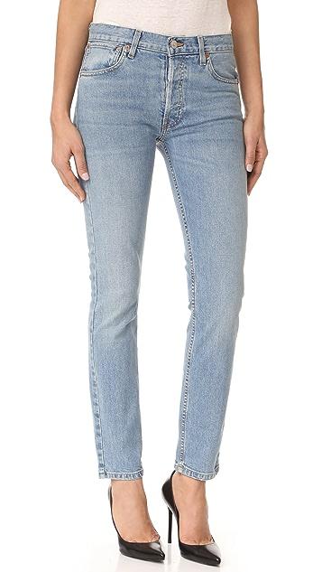 RE/DONE Originals Stretch Straight Skinny Jeans