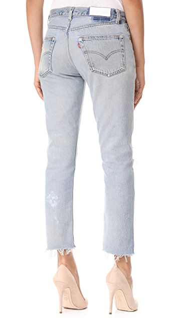 RE/DONE x Levi's Relaxed Cropped Jeans