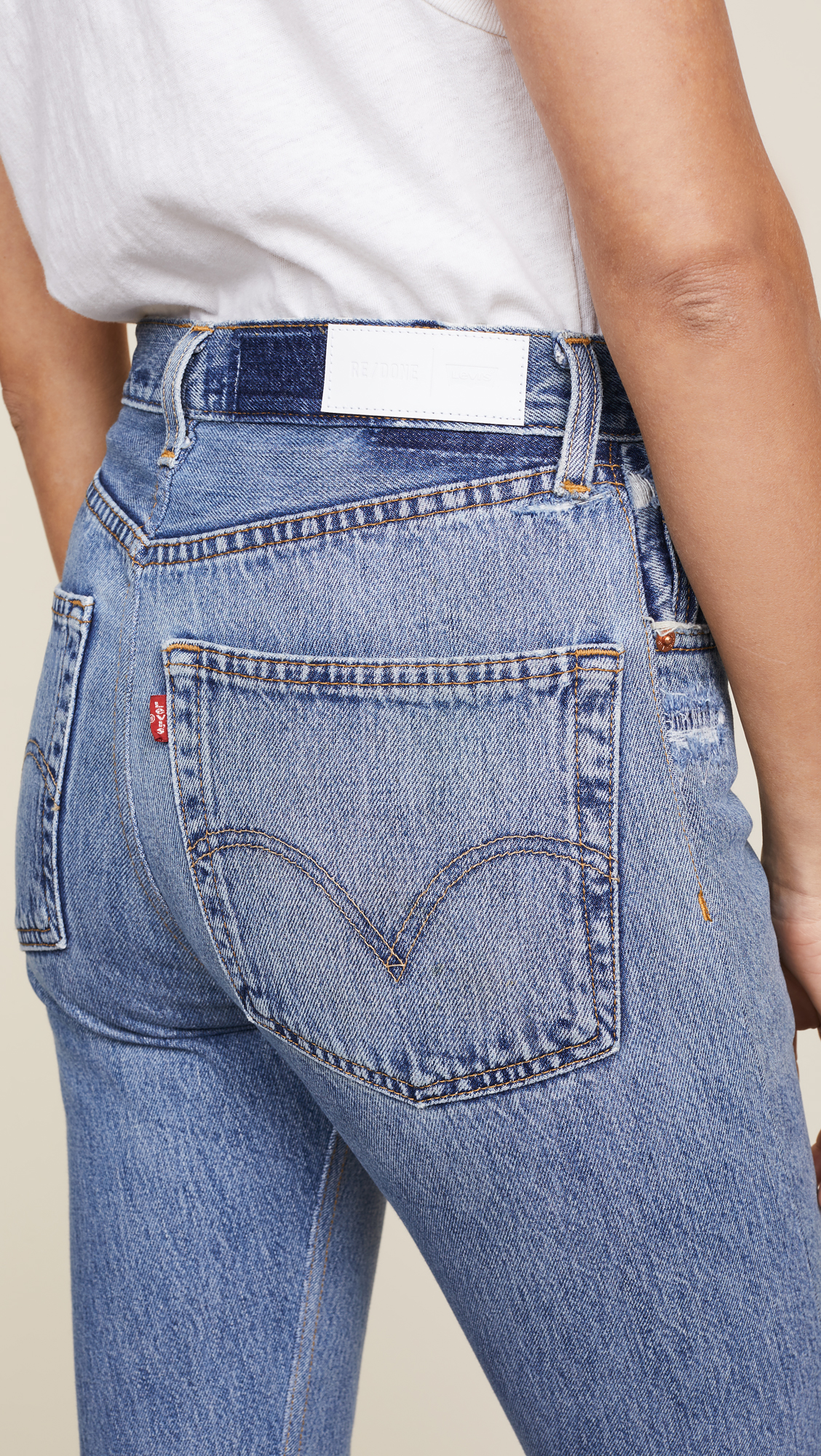 0ccbbdda8d5cb RE DONE x Levi s High Rise Ankle Crop Jeans