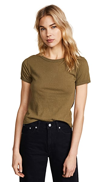 RE/DONE Classic Tee In Army