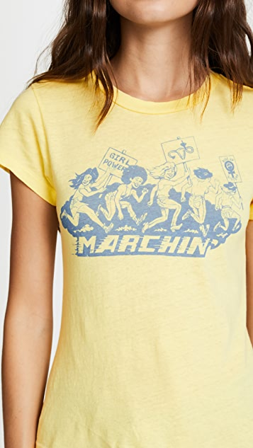 RE/DONE Marching Tee