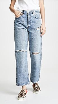 2b7bd91363a RE DONE. Low Slung Jeans