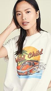 RE/DONE Wild Child Ex-Boyfriend T 恤