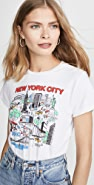 RE/DONE Classic Tee New York City