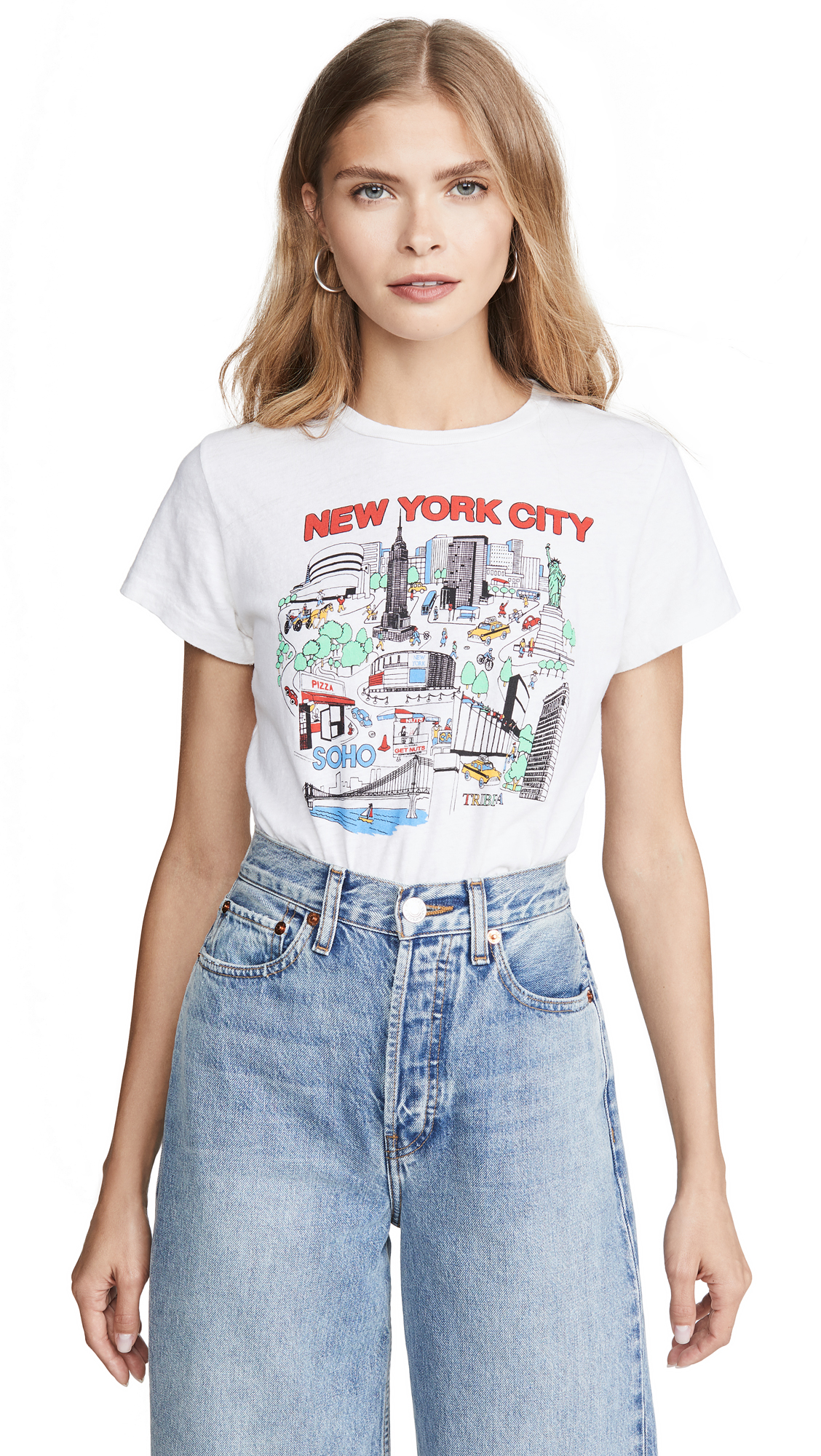 Buy RE/DONE online - photo of RE/DONE Classic Tee New York City