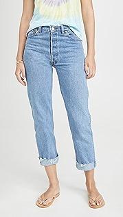RE/DONE Свободные прямые джинсы в стиле 1990-х гг.