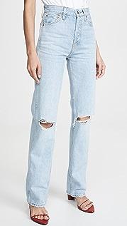 RE/DONE Свободные джинсы с высокой посадкой