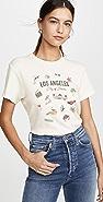 RE/DONE 70 年代复古风格洛杉矶 T 恤