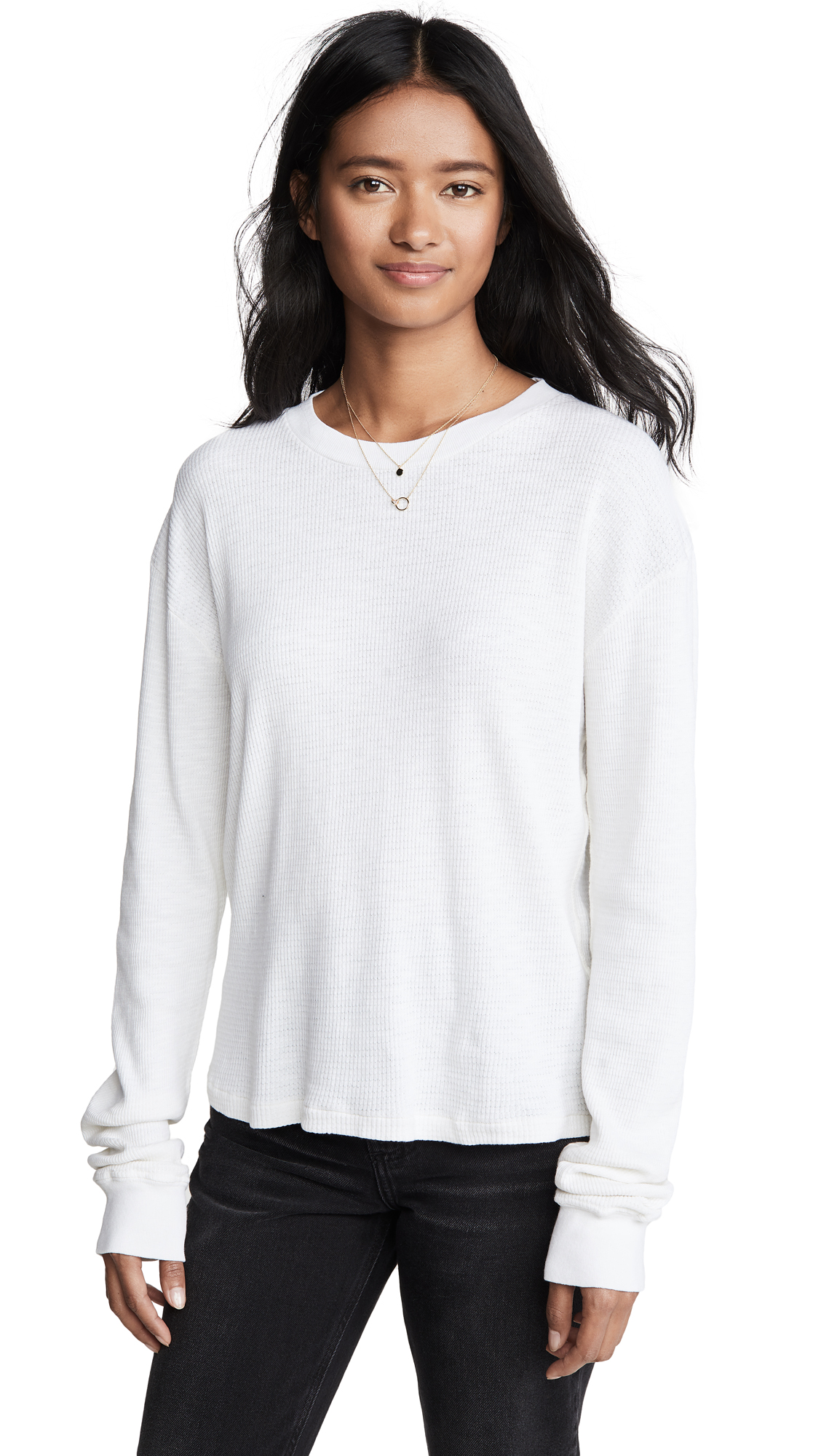 RE/DONE Thermal Long Sleeve T-Shirt