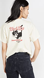 RE/DONE Kool Kat 90s Oversized Tee