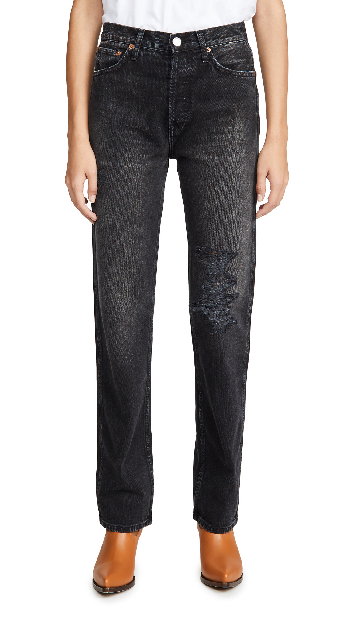 Buy RE/DONE online - photo of RE/DONE High Rise Loose Jeans