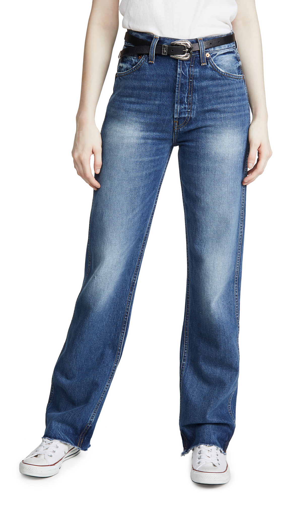 Buy RE/DONE online - photo of RE/DONE High Rise Jeans