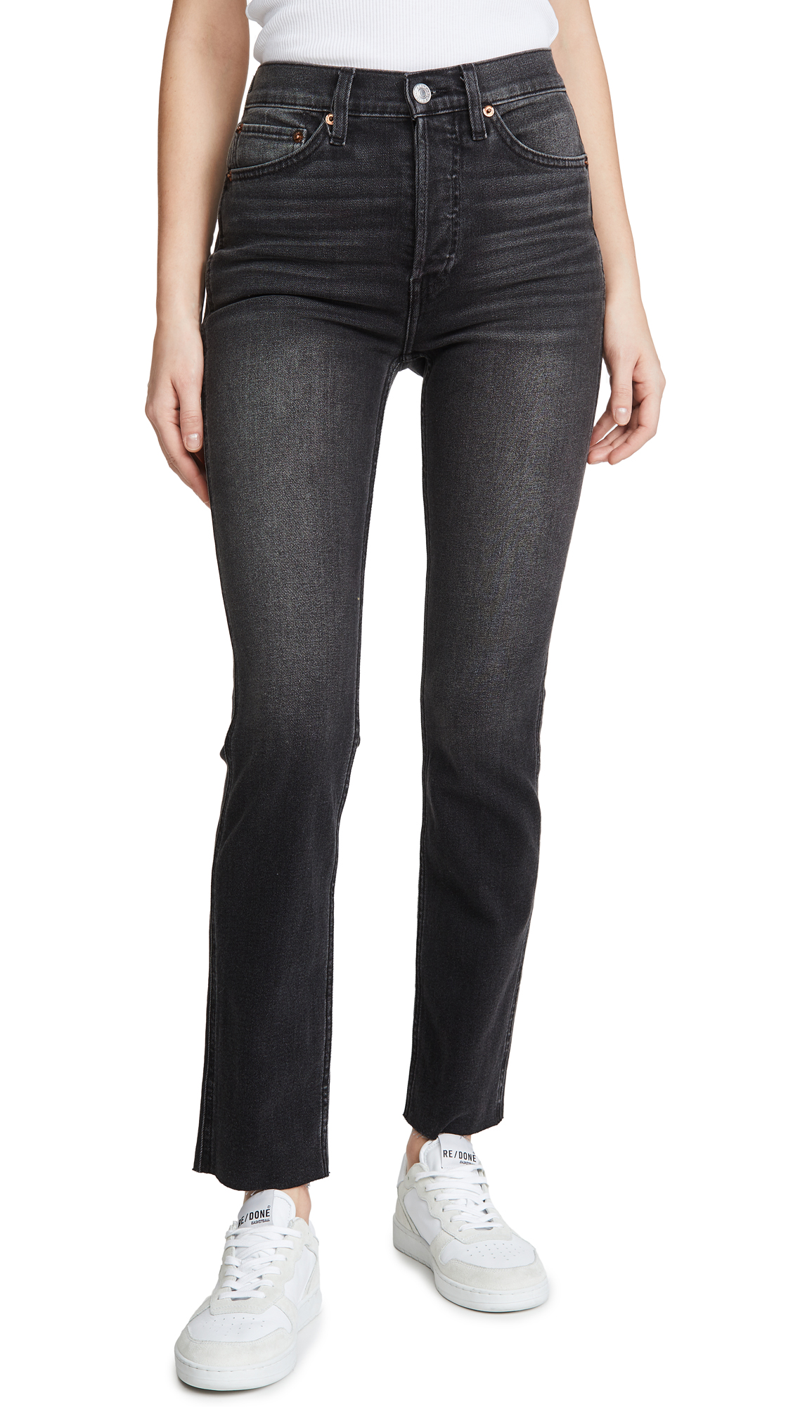 Buy RE/DONE online - photo of RE/DONE 80s Slim Straight Jeans