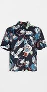 RE/DONE 50 年代复古风格夏威夷风格衬衫