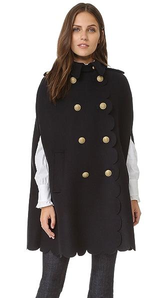 RED Valentino Cape Coat