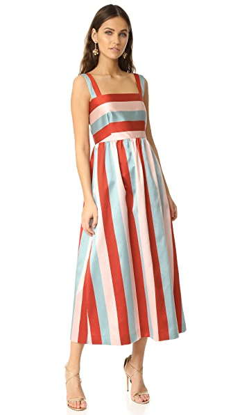 RED Valentino Striped Dress