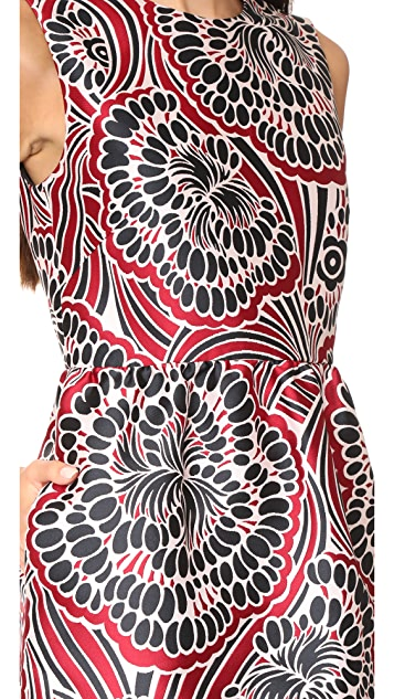 RED Valentino Patterned Dress
