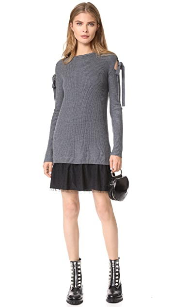 RED Valentino Tie Sleeve Dress