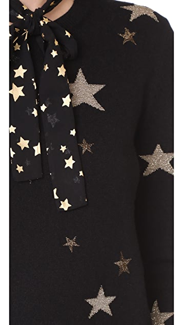 RED Valentino Star Sweater