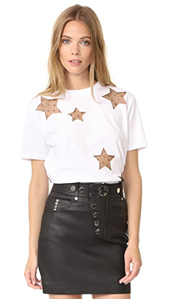 RED VALENTINO Star T-Shirt at Shopbop