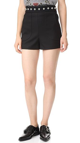 RED Valentino Studded Shorts