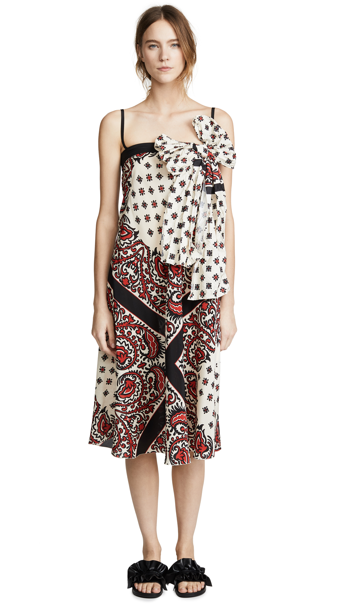 RED Valentino Red Bandana Dress