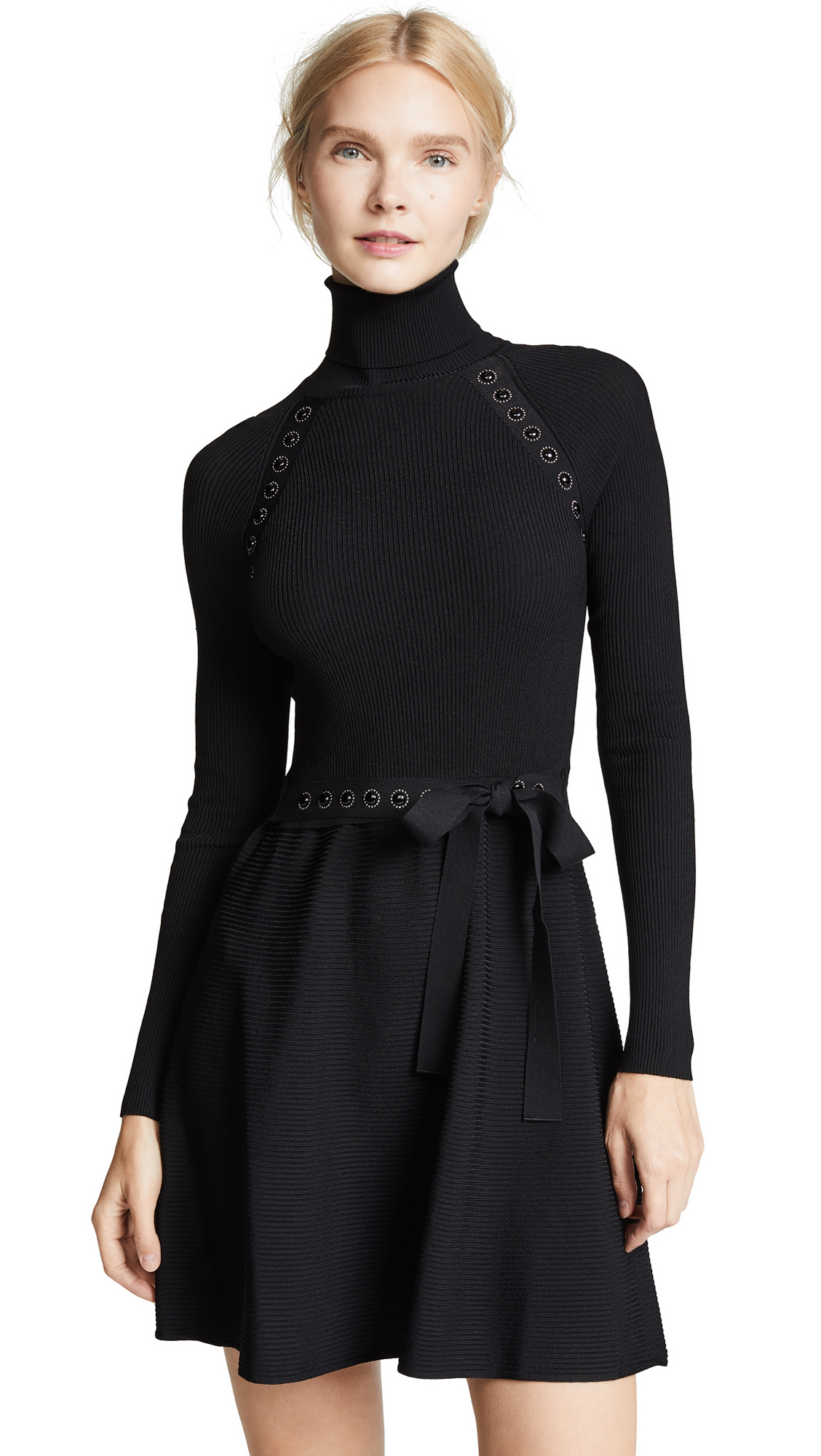 RED Valentino Turtleneck Dress