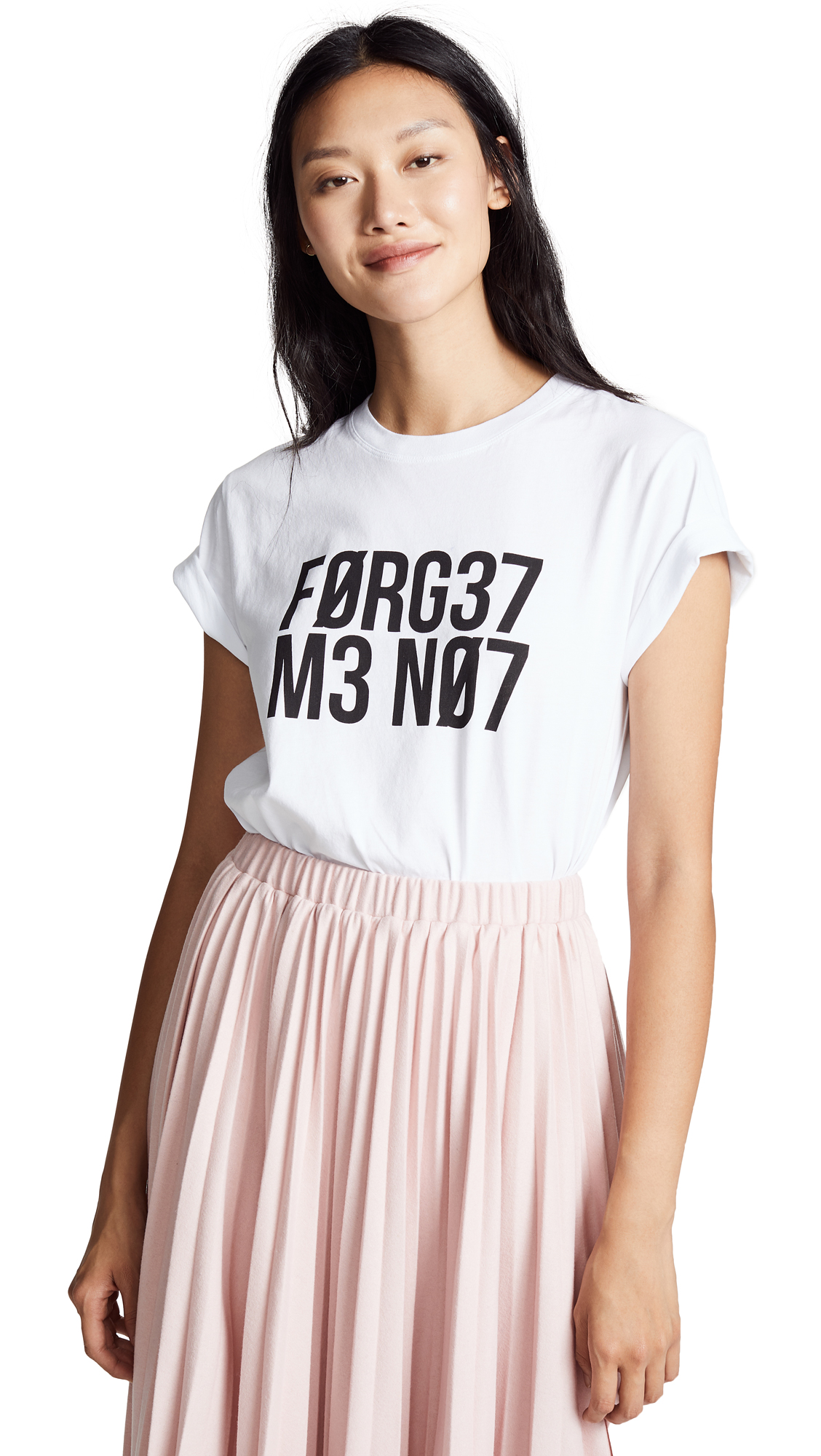 RED VALENTINO Printed Cotton-Jersey T-Shirt, White