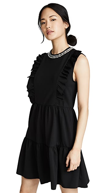 RED Valentino Embellished Shift Dress