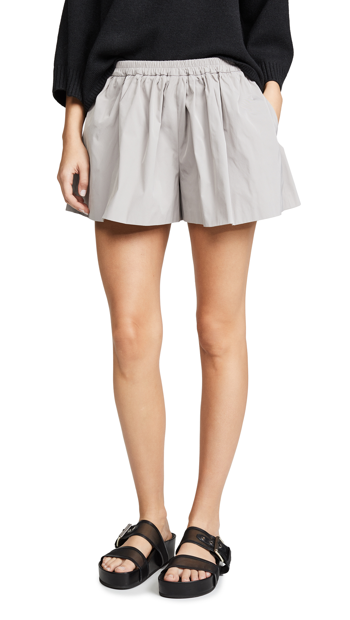 RED Valentino Cinched Pull On Shorts - Pirite