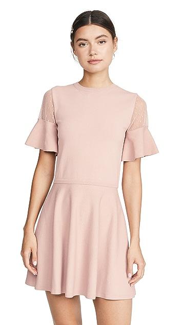 RED Valentino Point D'Espirit Dress