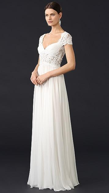 Reem Acra Adele Gown