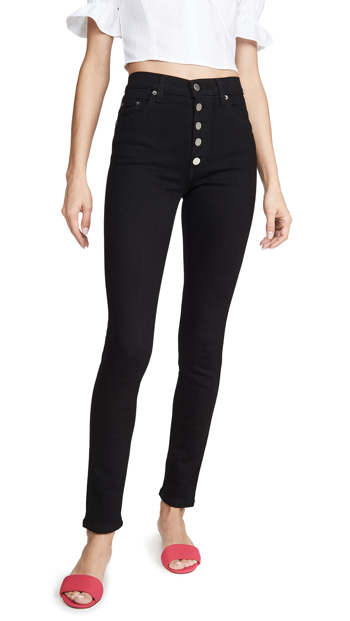 Reformation Cory High Waisted Skinny Jeans