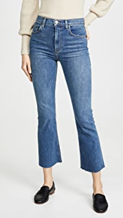 Reformation Jessie High Crop Boot Jeans