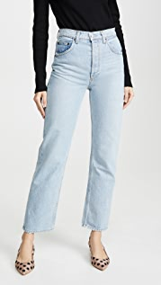 Reformation Непринужденные джинсы Cynthia