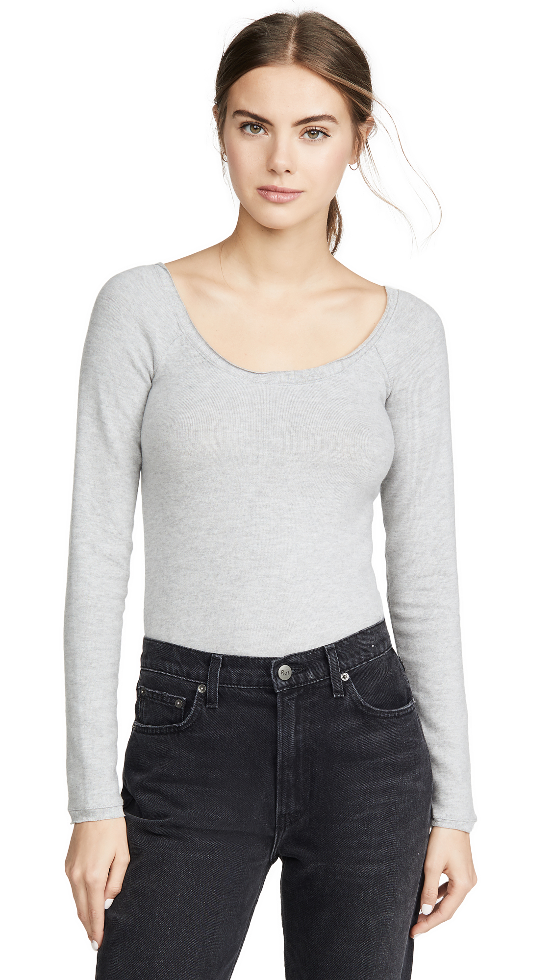 Buy Reformation online - photo of Reformation Crawford Long Sleeve Tee