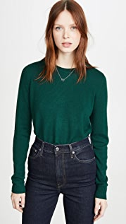 Reformation Cashmere Crew Neck Sweater