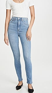 Reformation Ultra High + Skinny Jeans
