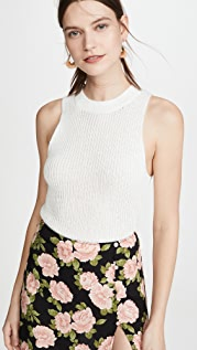 Reformation Lilac Top