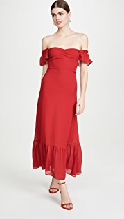 Reformation 蝴蝶连衣裙