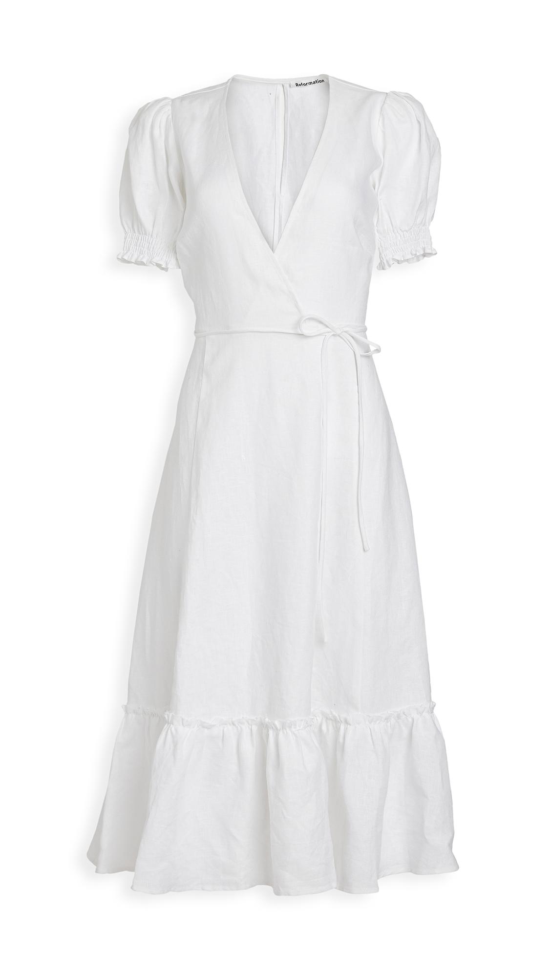 Buy Reformation Veronika Dress online beautiful Reformation Clothing, Dresses