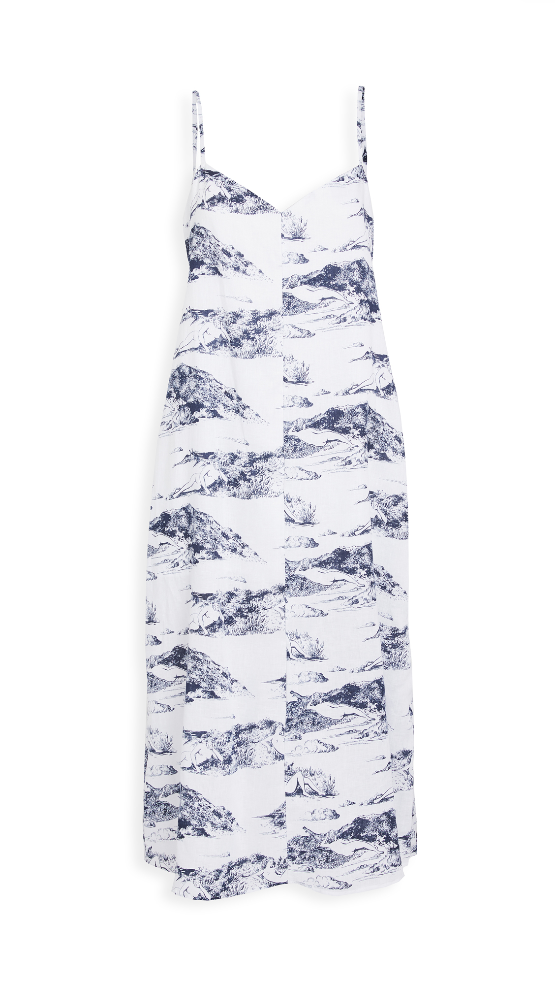 Reformation Gisele Linen Dress