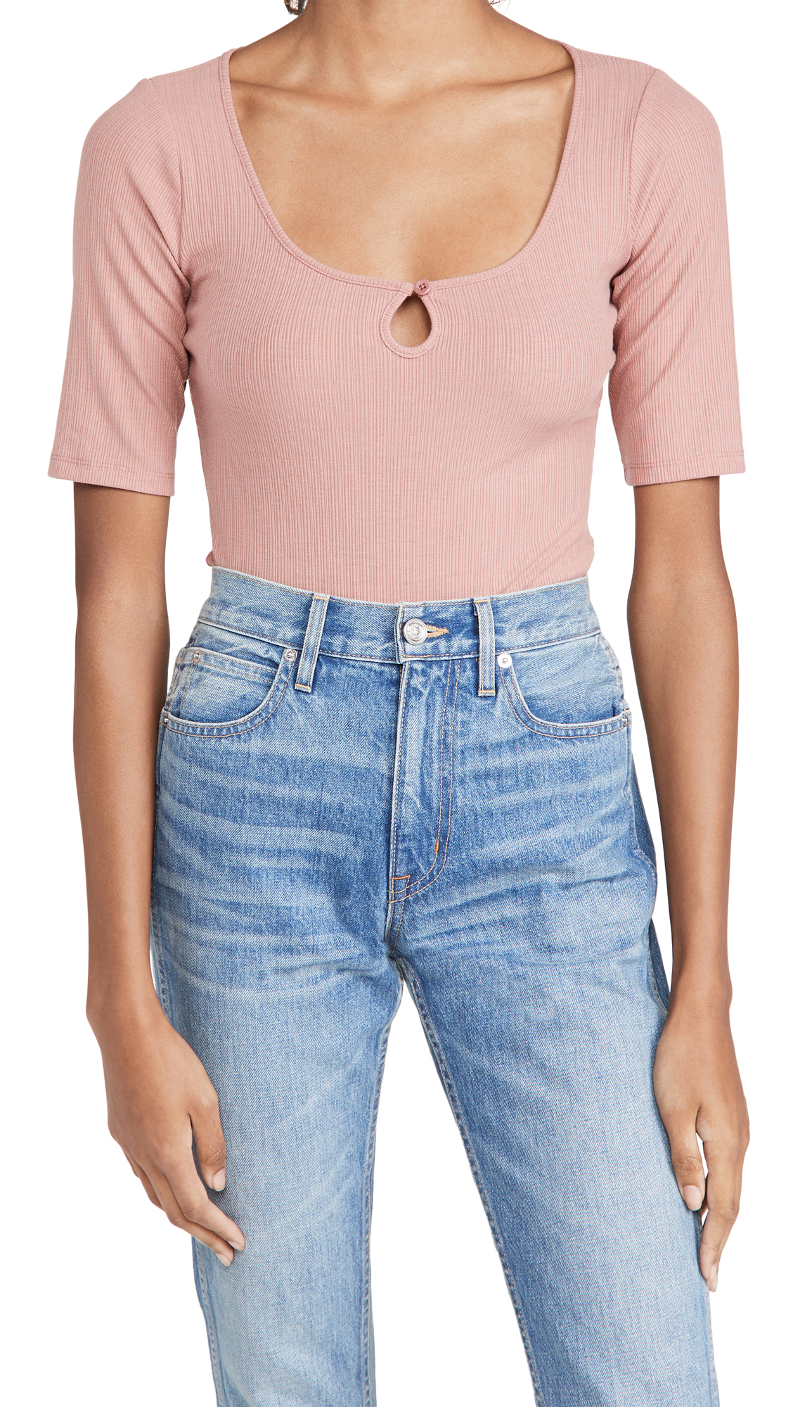 Reformation Kourtney Top