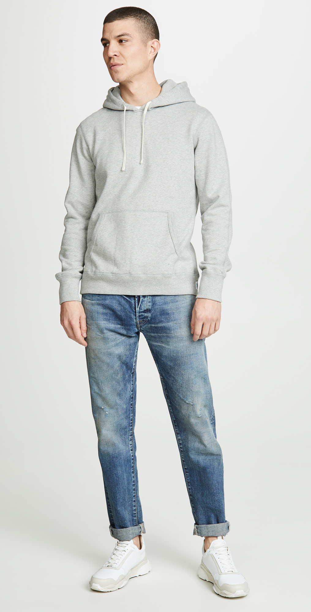 Reigning Champ Mid Weight Terry Pullover Hoodie | EASTDANE