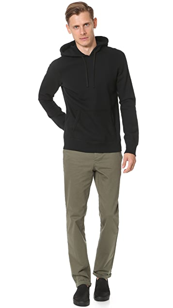 Reigning Champ Mid Weight Terry Side Zip Hoodie