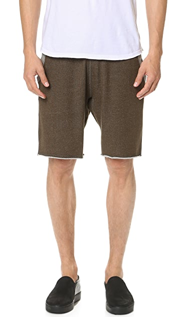 Reigning Champ Diagonal Terry Sweat Shorts